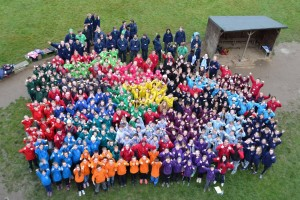 group photos of our Year 7 students at the annual residential