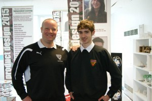 Adam Shewry With Mr Paterson