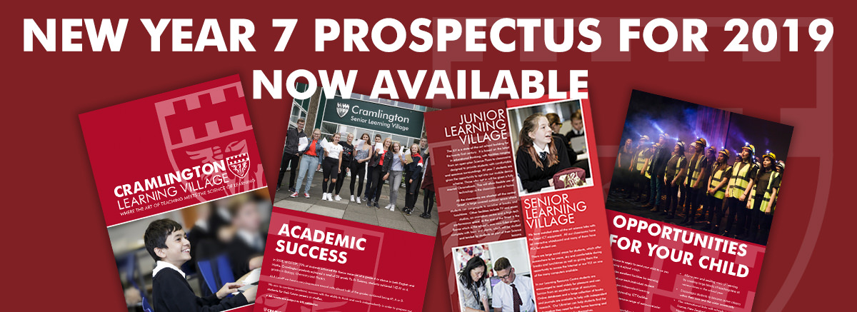 New year 7 prospectus for September 2019 now available