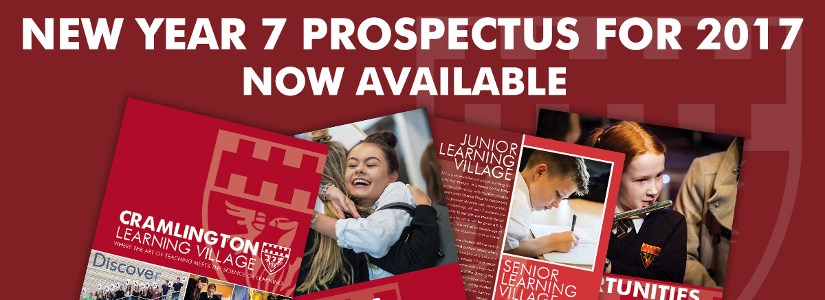 New year 7 prospectus for September 2017 now available