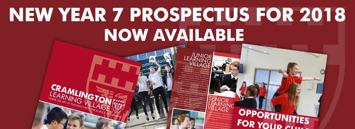 New year 7 prospectus for September 2018 now available