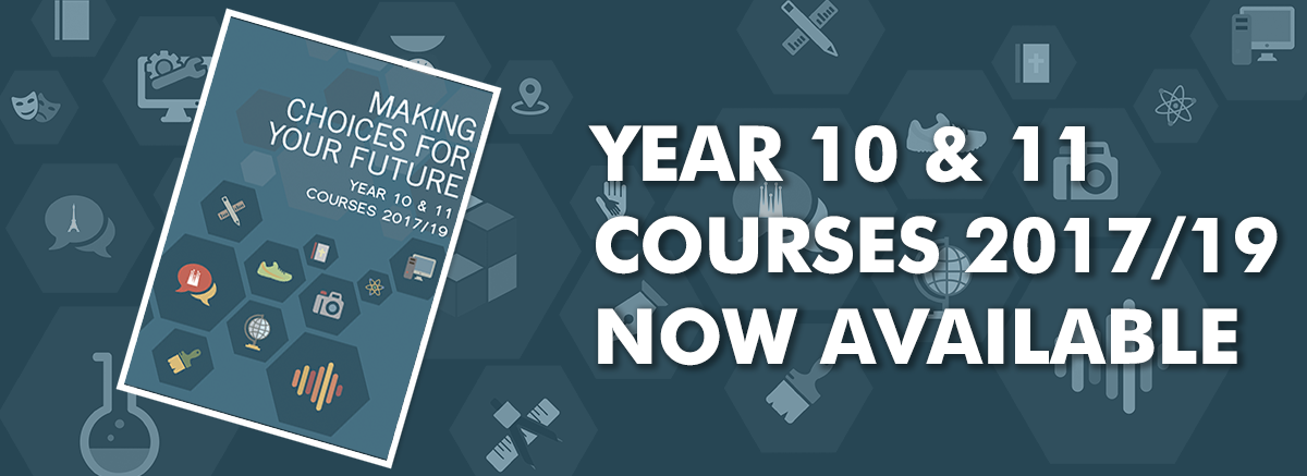 Year 10 & 11 course guide 2017