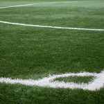 Image of the corner of a football pitch