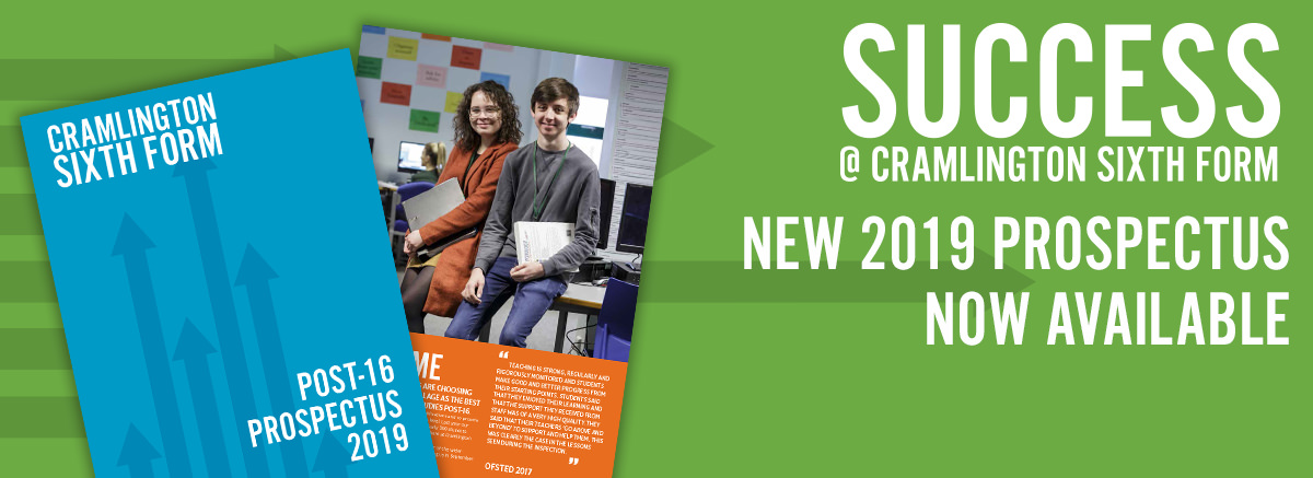 New Sixth Form Prospectus 2019 Available