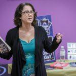 Sarah talks about her book